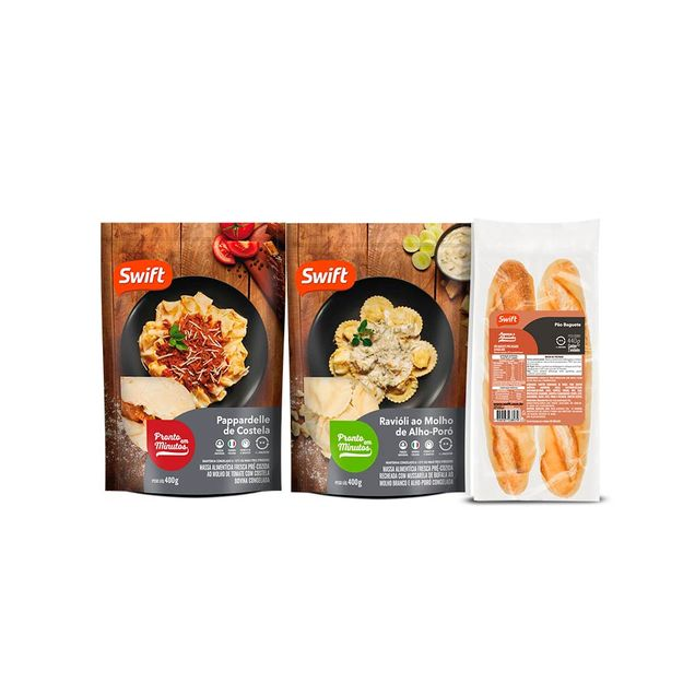 Kit PicPay - Massas + Baguete